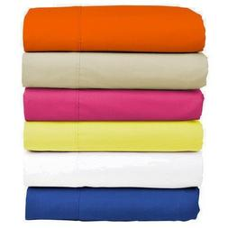 SINGLE FITTED BED SHEETS, ELASTICATED AT CORNERS, TRUSTWORTH