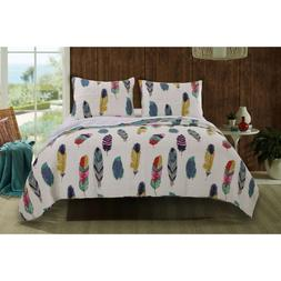 Dream Catcher Quilt Set, 3-Piece Full/Queen