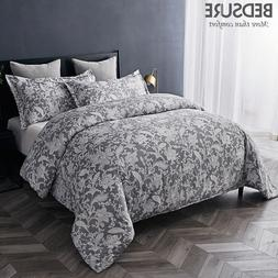 Duvet Cover set Bed Sheet Soft Hypoallergenic Microfiber Tex