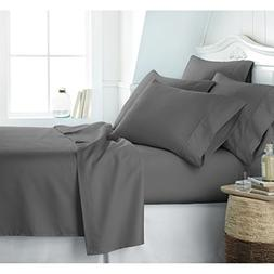 Egyptian Luxury 1800 Hotel Collection Bed Sheet Set - Deep P