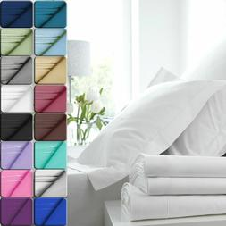 egyptian comfort 1800 count color sheets deep