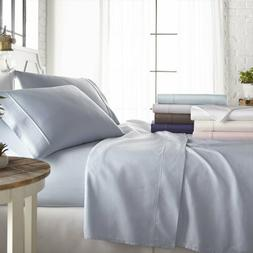Egyptian Comfort 1800 Thread Count 4 Plus 6 Piece Bed Sheet
