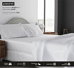 KING SIZE SHEETS LUXURY SOFT 100% EGYPTIAN COTTON - Sheet Se