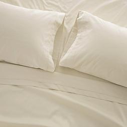 1000 Thread Count Bed Sheet Sets - Luxurious 100% Egyptian C