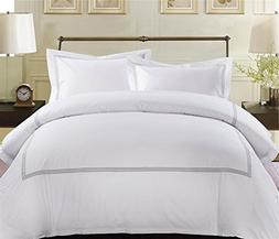 MARCOPOLO 100% Egyptian Cotton Luxury Hotel Bedding Sets Que