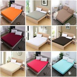 Egyptian Fitted Sheet Bed Sheet Comfort Bedding Cover Deep P