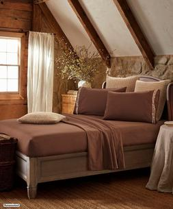 EMBROIDERED BARBED WIRE WESTERN PLAINS SUPER SOFT BED SHEETS