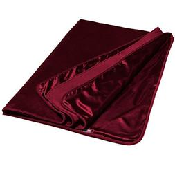 Liberator Fascinator Throw Moisture Proof Blanket, Red