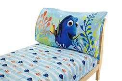 Disney Finding Dory 2 Pack Fitted Sheet and Pillowcase Toddl