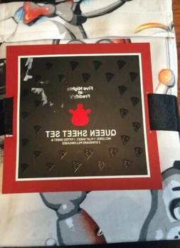 Five Nights at Freddy's Sheet Set Queen 1 Flat 1 Fitted 2 Pi