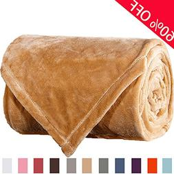 Sonoro Kate Fleece Blanket Soft Warm Fuzzy Plush King Lightw