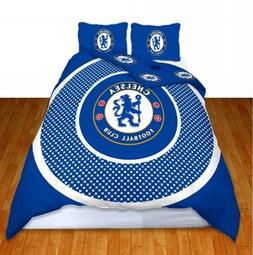 Football Chelsea FC 'Bullseye' Panel Double Duvet Cover