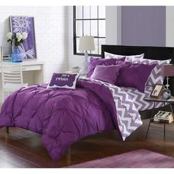 Chic Home Foxville Reversible Bed in a Bag Comforter Set