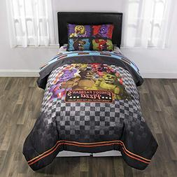 4 Piece Twin size Five Night's at Freddy's Bedding Set -