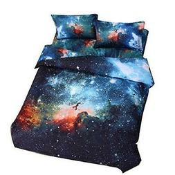 Cliab Galaxy Bedding for Kids Boys Girls Queen Size Outer Sp