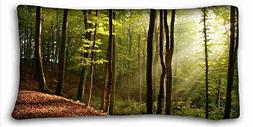 """Generic Personalized Nature Pillowcase Cover 20""""X36"""" One Sid"""