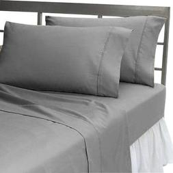 Genuine 600 TC Egyptian Cotton Super Soft HIGHLY DURABLE 2 P