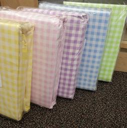 Company Store Gingham percale Duvet Covers & Bed Sheets,Yell