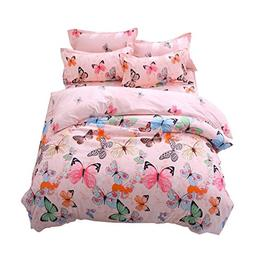 Lemontree Butterfly Bedding Set- Girls Soft Bedding DUVET CO