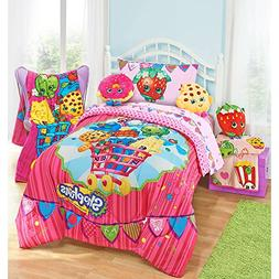 Shopkins Girls Twin Comforter & Sheet Set  + HOMEMADE WAX ME