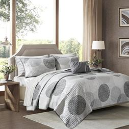 Madison Park Essentials Knowles Cal King Size Quilt Bedding