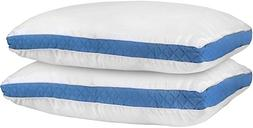 Utopia Bedding Gusseted Quilted Bed Pillows  - Hypo Allergen