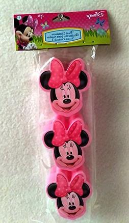 Happy MINNIE MOUSE Girls Easter Basket Kids Toddlers Gift Ch