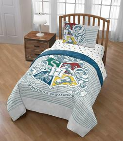 Harry Potter Boys Reversible Full Comforter, Sheet Set,
