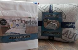 Harry Potter Reversible Quilt + Shams + Sheet Set ~ NEW Full