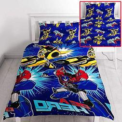 Transformers Hero UK Single/US Twin Unfilled Duvet Cover and