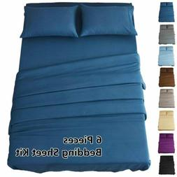 HIGHEST 1800 THREAD COUNT COTTON AND BAMBOO FEEL SOFT SHEETS