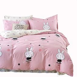 Mumgo Home Collection Bedding Sets for Kids Girl Lovely Rabb