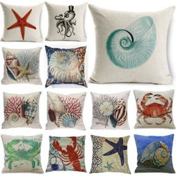 Home Decor Decorative throw Pillow Cover Beach Ocean Seaside