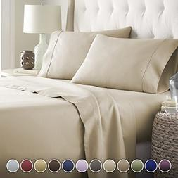 Hotel Luxury Bed Sheets Set- 1800 Series Platinum Collection