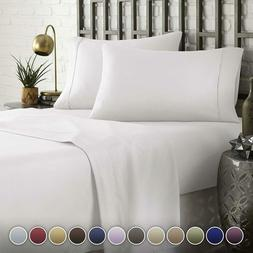 Hc Collection Hotel Luxury Comfort Bed Sheets Set, 1800 Seri