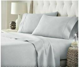 HC COLLECTION-Hotel Luxury Sheets Set 1800 Series Platinum C