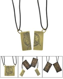 Hunger Games Friendship Two Part Necklace District 4 & 12