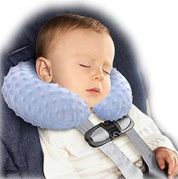 BlueBeach Inflatable Baby Children Travel Pillow Comfy Soft