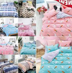 Kids Adults Bedding Single Double All Size Duvet Quilt Cover