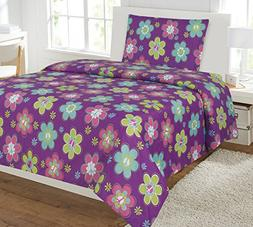 kids bed sheet set twin