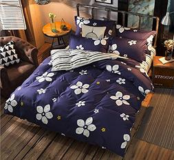 LAGHCAT 3 Piece Kids Bedding for Teens Boys and Girls White