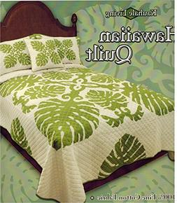 King Size Hawaiian Quilt Comforter Set with 2 Pillow Shams