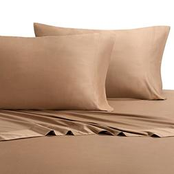 King Taupe Silky Soft bed sheets 100% Rayon from Bamboo Shee