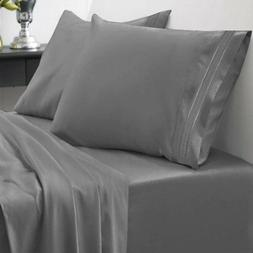 NEW King Size 4-Piece 1500 Thread Count Egyptian Quality Bed