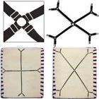 1 set Criss-Cross Adjustable Bed Fitted Sheet Straps Suspend