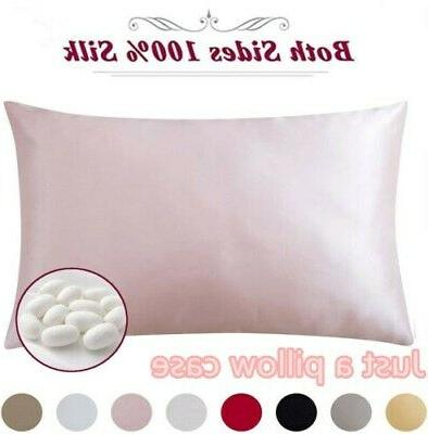 100 percent pure mulberry silk pillowcase bed