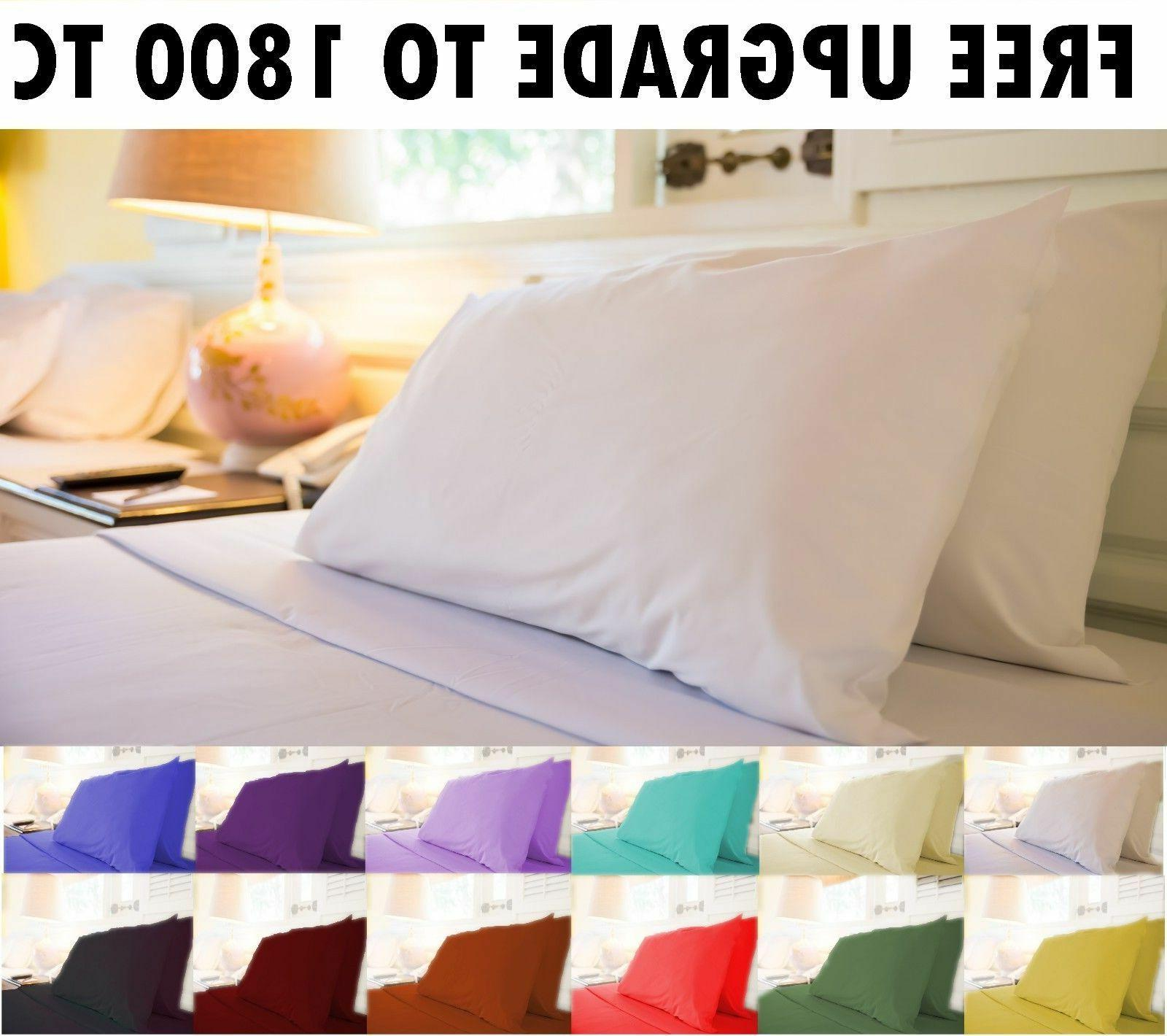 1000 Thread Count 100% Egyptian Cotton 4 Piece Bed Sheet Set