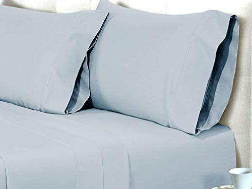 AUDLEY HOME Count 100% Egyptian Bed Sheet Soft