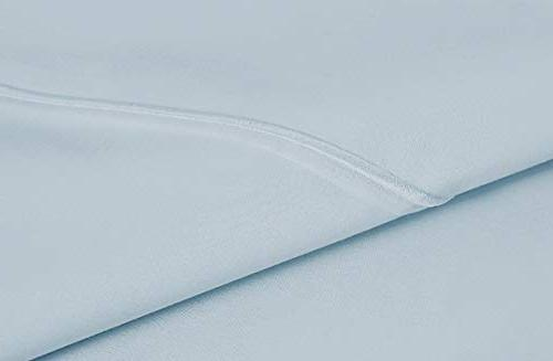 AUDLEY Count 100% Long Staple Egyptian Cotton Piece Bed Ultra Soft Breathable
