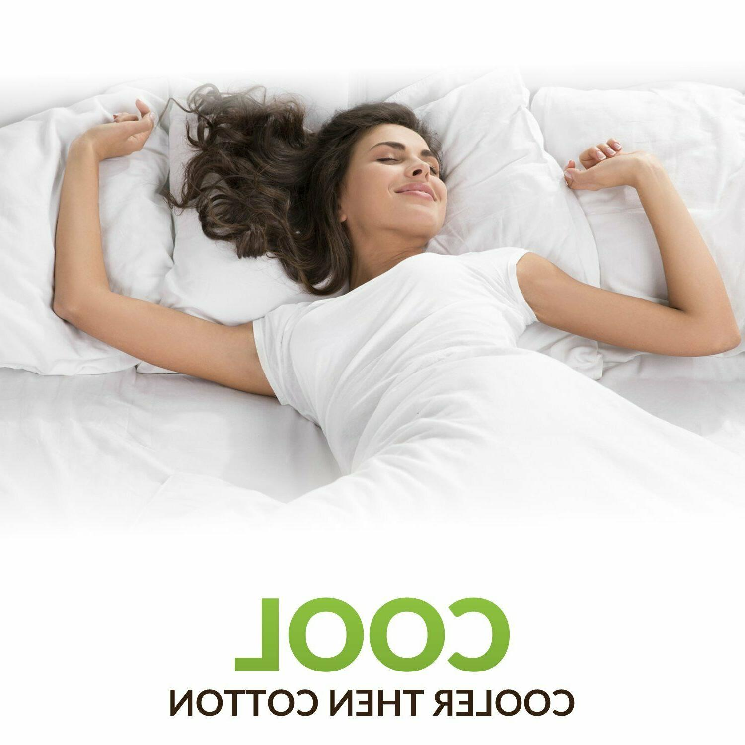🥇Egyptian Series Cooling Bed Sheets